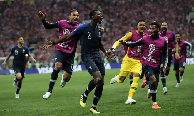 France beats Croatia to win the world cup!